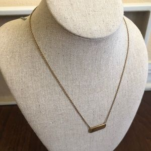 Stella & Dot Engraved Necklace